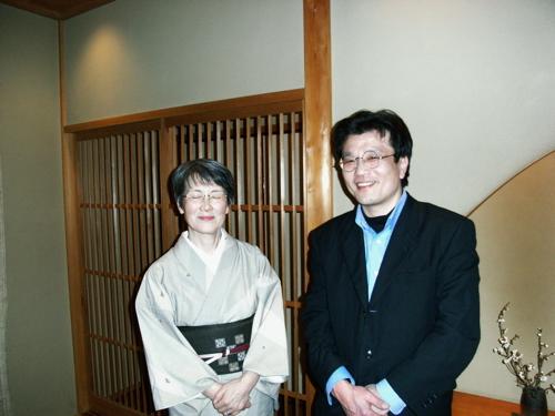 <2010.03.12 湖里庵にて>