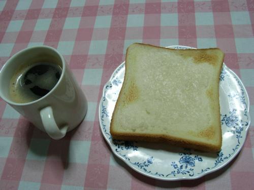 <鮒寿司の飯を塗って5分程焼いた食パン>