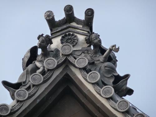 <東光寺の鬼瓦>