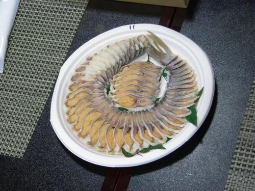 <11番 鮒寿司先生の近藤さんの鮒寿司>