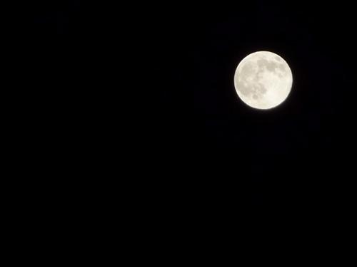 <秋分の日の満月>