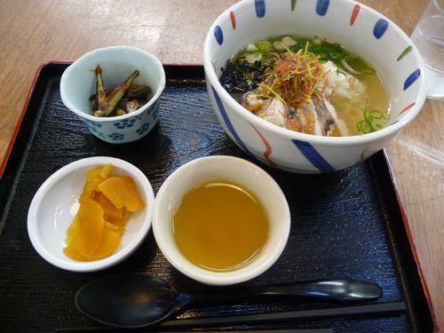 <魚助の鮒寿し茶漬け>