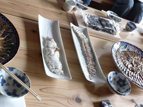 <今回用意した鮒寿司>