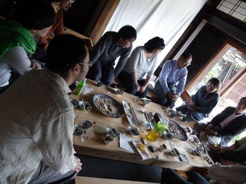 <鮒寿司を軸に色んな角度から会話が弾みました>