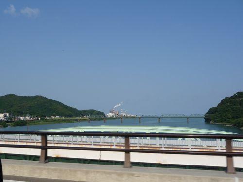 <熊野川河口>