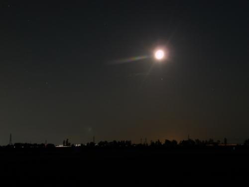 <月明かり北陸自動車道>